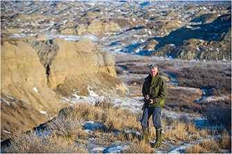 Alberta Badlands, 2014 by Dr. Robert Berdan ©